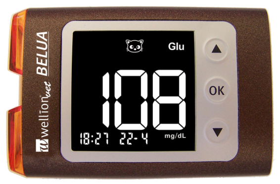 WellionVet BELUA glucose and ketone meter for dogs, cats and cows